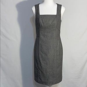 Banana Republic Wool Blend Tweed Career Dress